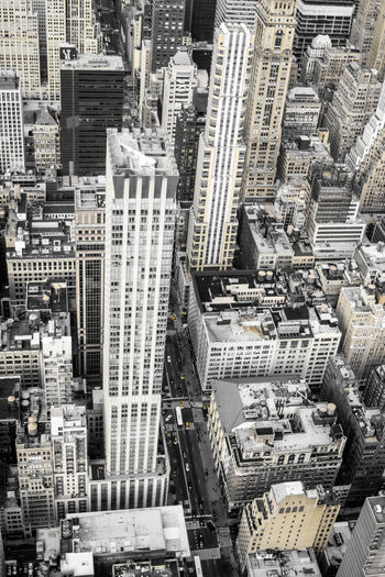 City Architecture Cityscape Built Structure Building Skyscraper Outdoors Modern Tall - High New York Aerial
