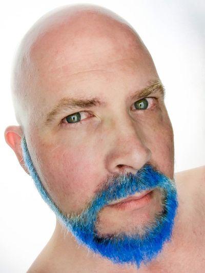 Beard Blue Bearded Beards Beardlife Blue Hair Bluetastic
