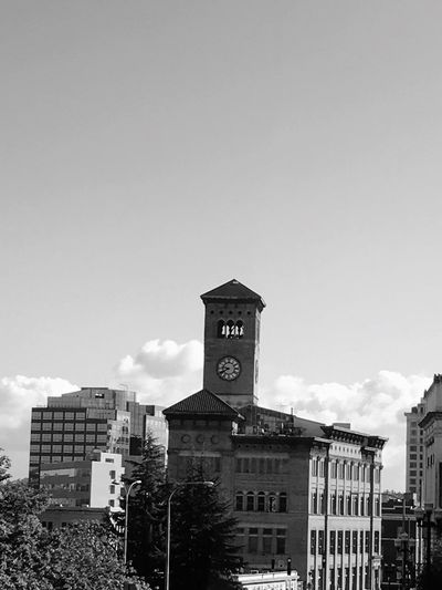 Architecture Building Exterior Clock Tower City Life City Monochrome Photography