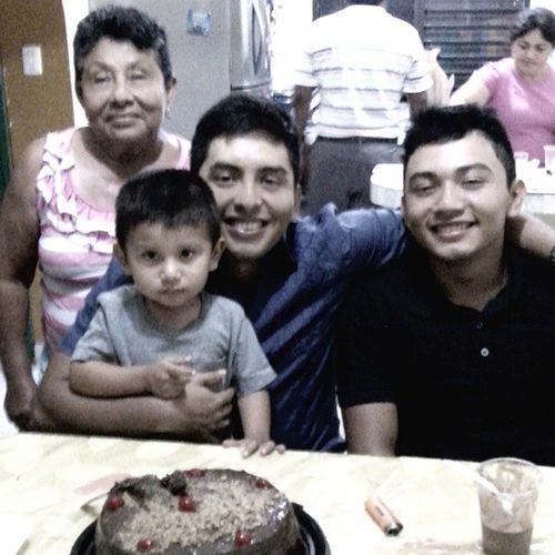 Bestday Cake Grandmother Bestfriend bestbro littlebaby gracias por ese gran día los amo ❤