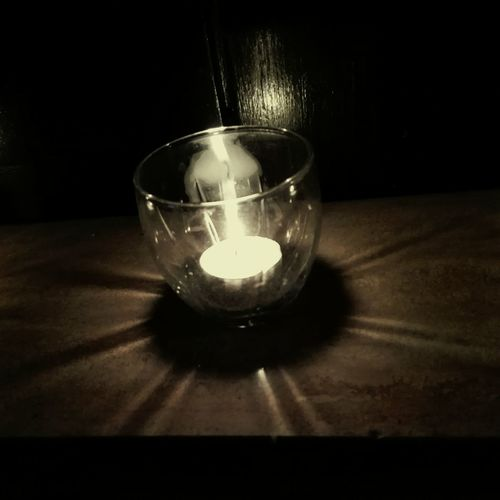 Candle in a