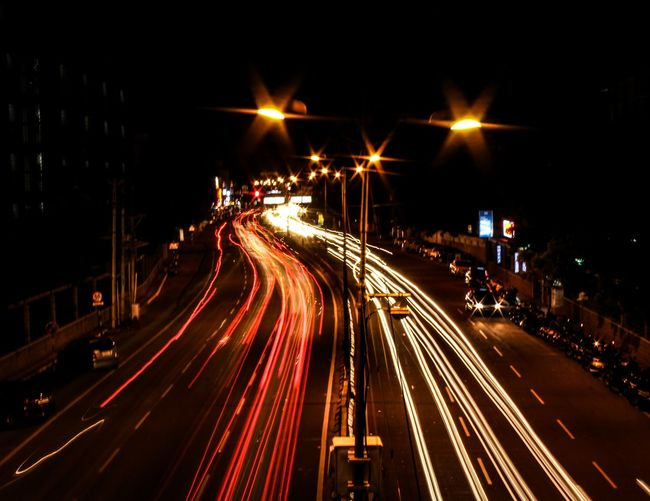 EyeEm Selects Longexposure_shot Coimbatore PSG  Light White&red Light Trails Happiness MyClick India MyPhotography