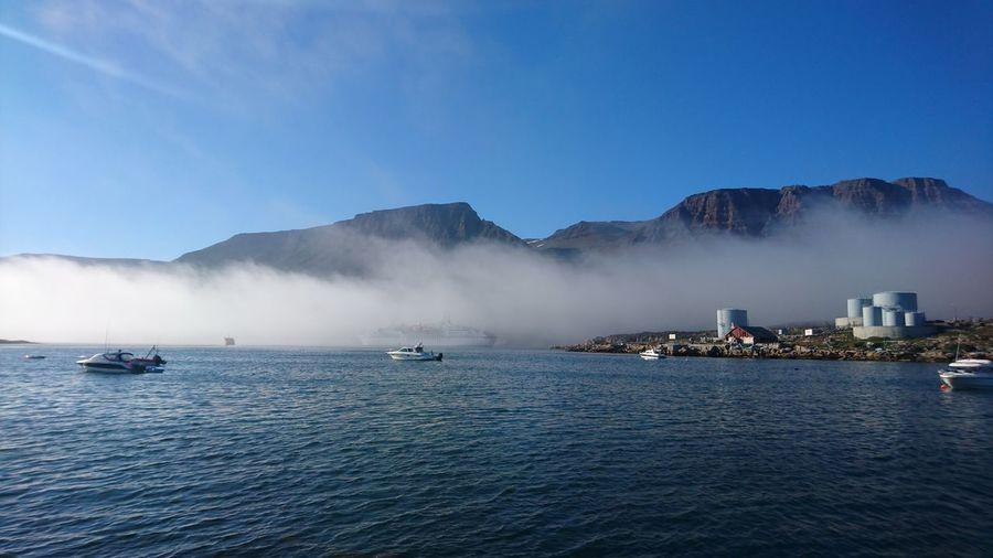 Travel Nautical Vessel Landscape Beauty In Nature Sky
