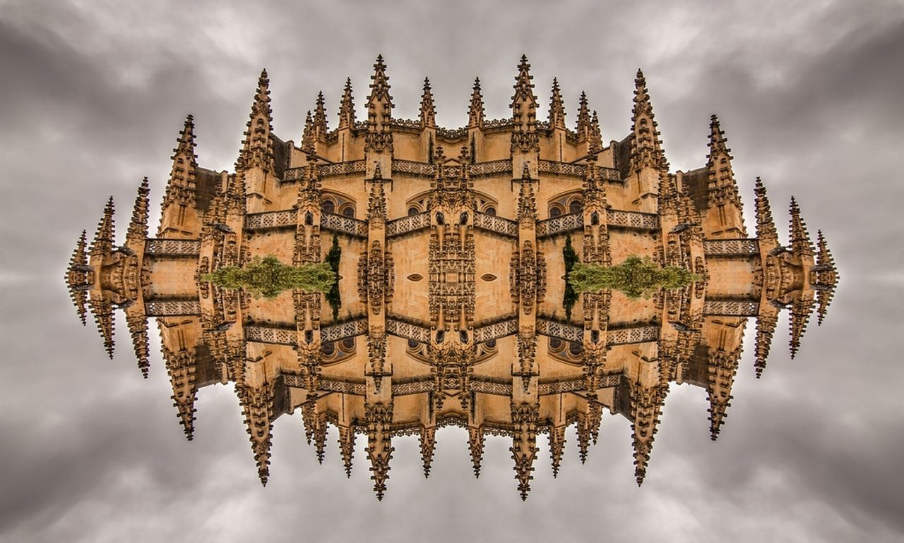 spirituality, religion, place of worship, architecture, cloud - sky, built structure, sky, history, building exterior, day, outdoors, no people, travel destinations, symmetry, water, tree, nature, ancient civilization