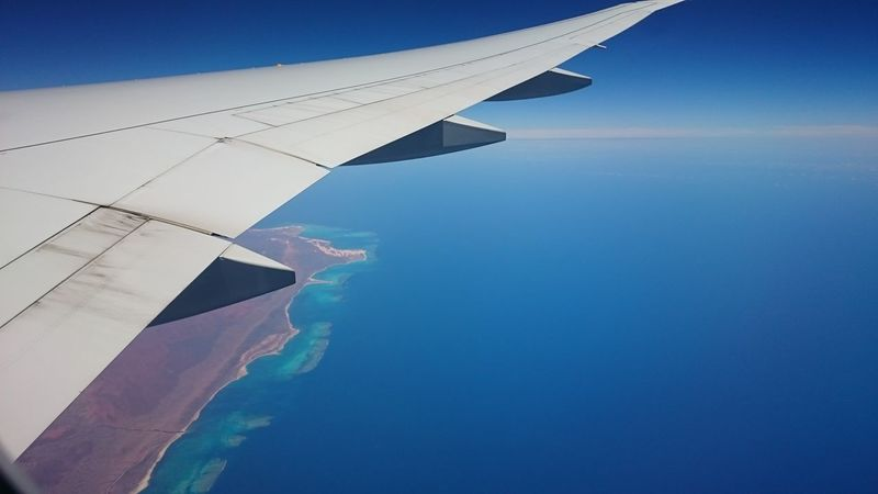 Miles Away Nofilterneeded Naturally Nature Australia Airplane Surprisingparentsinaussie Arriving In Aussie First Piece Of Aussie Land Australian Landscape Australian Desert Aircraft Wing Aerial View Red Aussie Sand Oceania Etihadairways Travel Viaggiare Passion Exploring New Land Emisfero Australe Newcolours Right Moment Istante Perfetto Nuovo Continente Sky And Ocean Infinite Blue Acqua E Cielo Wild Wide Open Space Flying High