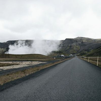 on the road again Iceland