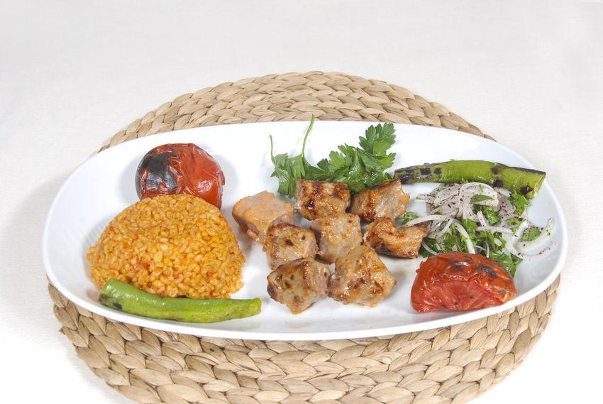 Meat Sish Lahmacun Fish Alinazik Fast Food Pide Calamari Kalamar  Pitta Kebap Turkish Kebap Mushroom Cipura See Bream Karides