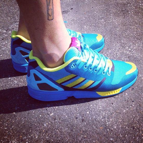 Adidas ZX Flux Weave Aqua Sneakers Sneakerhead  Womft Zx Flux