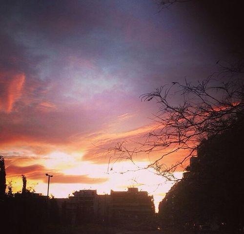 Sunset, Athens