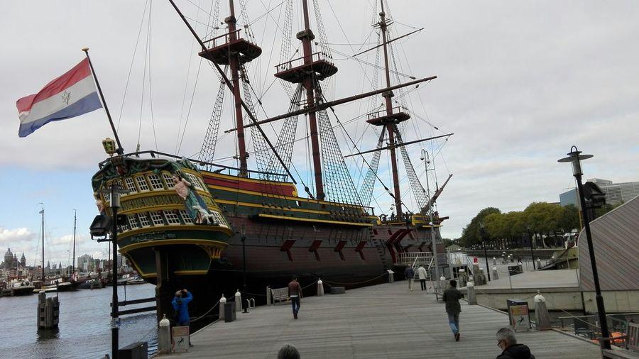 Netherlands History Ship 🚢⚓ Flag 🇳🇱