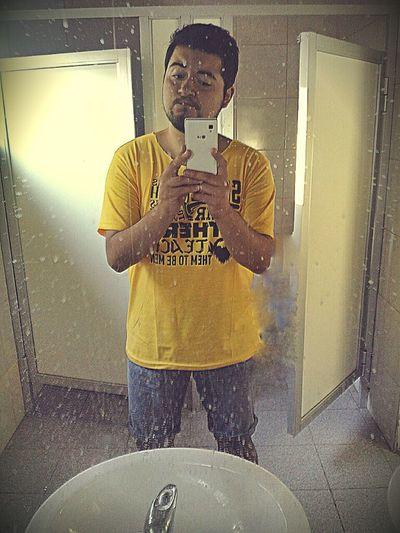 Black&Yellow Niceday jajajajaja mi cara e.e igual buena tarde en la hacienda tobalaba <3