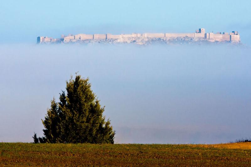Navío en la niebla Beauty In Nature Castilla Y León CASTILLO DE GORMAZ Cloud Enebro Fog Fortaleza Medieval Niebla Otoño PEDRO RAMOS PERATO Sori
