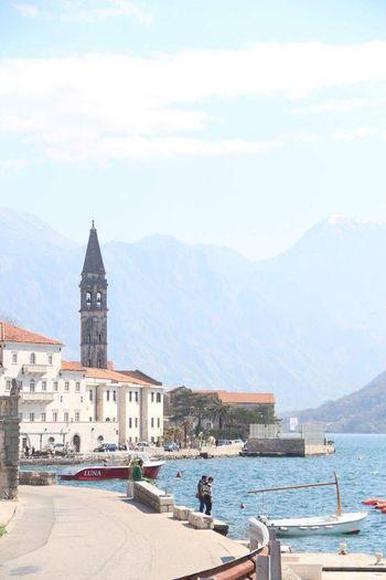 Perast PERAST Perast Montenegro Perast Bay Montenegro Montenegro Balkans Bay Of Kotor Fishermen Seaside Water Waterfront Old Town