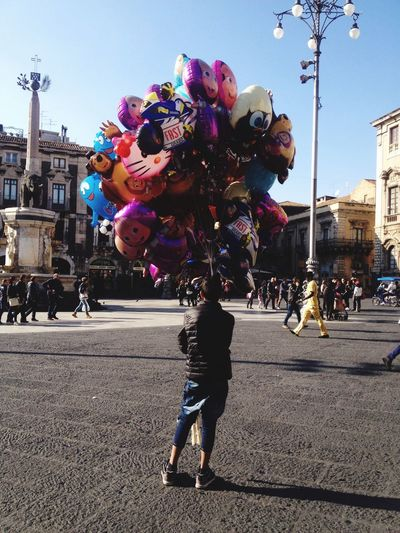 Showcase: December Pastel Power Cityscapes City Life Vendor Street Photography Streetphoto_color Catania, Sicily Street Vendor The Street Photographer - 2016 EyeEm Awards The City Light Business Stories Focus On The Story Small Business Heroes