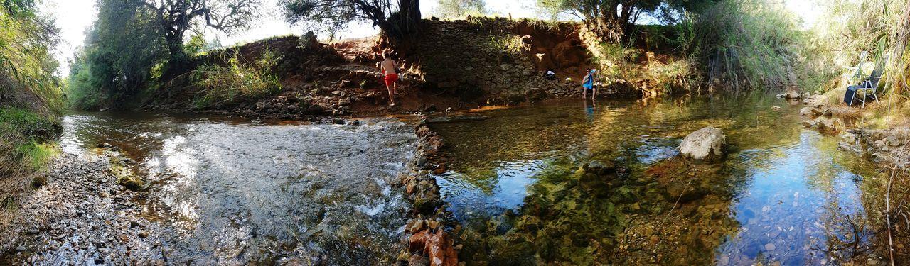 Mini Barragem First Eyeem Photo Water Dam River Riverside Field The Essence Of Summer