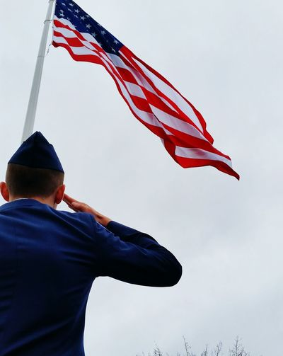 Proud to say I just raised the largest flag in the state of New Hampshire. American Flag Taking Photos Hello World Check This Out That's Me America Flag Airforce Rotc Jrotc Proud Flagraising