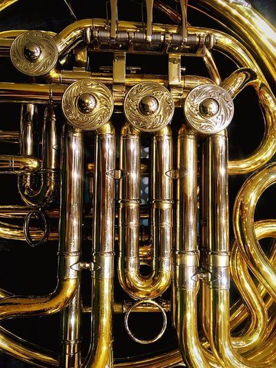 Music Metal Hornmusic Arts Culture And Entertainment Gold Classical Music Beautiful Sound Radio Studio Pipes Budapest Hungary