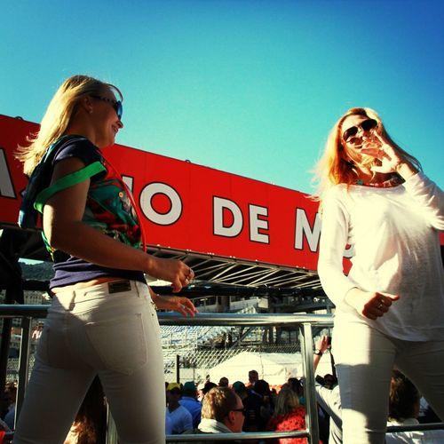 Party Dancing Monaco Grand Prix