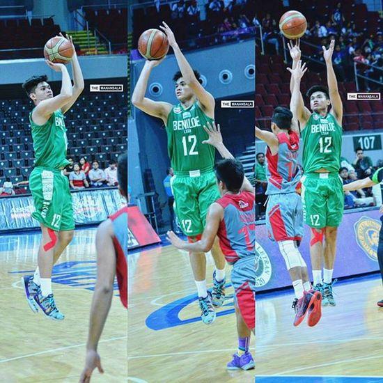@ajhappy_ 🏀 . . . NCAA Ncaa91 Ncaaseason91 CSBvsLPU juniors csb benilde LSGH greenies onelasalle hoop ballers ballislife basketball themanansala