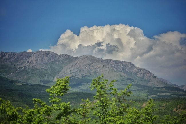 Mountains Mountain Outdoor Nature Sky And Clouds Sky Crimea Trees горы облака Крым Поход путешествие Journey Крым небо облака небо Outdoor Photography Travelling Travel горы крыма