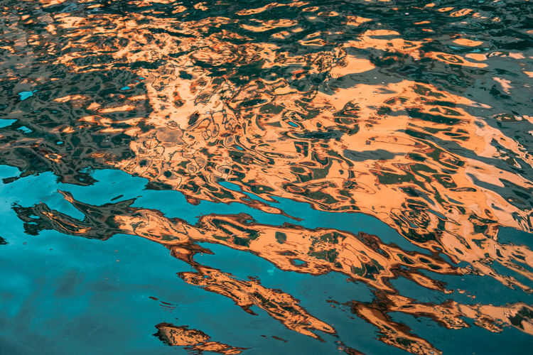 Abstract Photography Cityscape Evening Light Poster Textures And Surfaces Water Reflections Abstract Backgrounds Beauty In Nature Close-up Day Full Frame High Angle View Nature No People Outdoors Puddle Reflections In The Water Water Water Texture