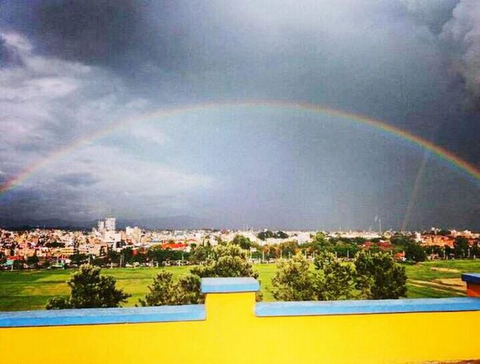 43 Golden Moments Rainbow View In My Country