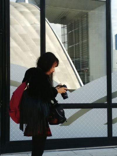 La Défense. Plan Cadrage Photographe