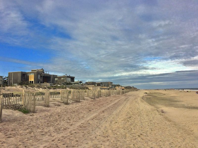 Fire Island Fire Island NY Architecture Beach Blue Cloud - Sky Day Demendozaphotography IPhone Nature No People Outdoors Sand Sky