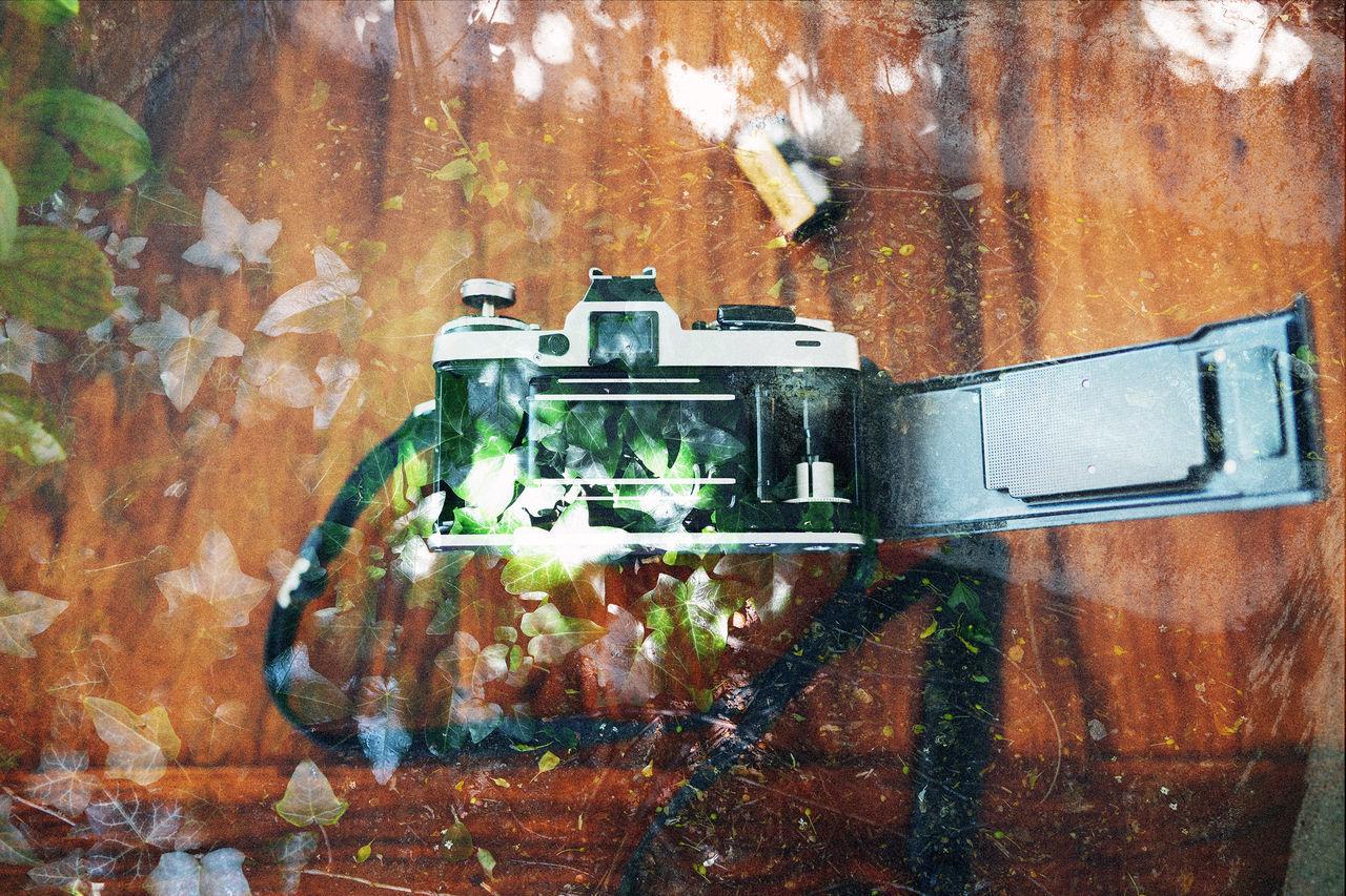 CLOSE-UP VIEW OF DAMAGED MACHINE