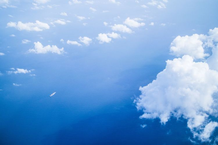 Blue Sky Cloud - Sky Nature No People Beauty In Nature Scenics Day Outdoors Freshness