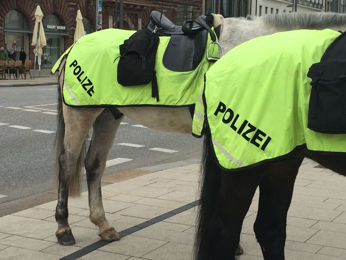 Casual Clothing City City Life City Street Day Leisure Activity Lifestyles Outdoors Police Hamburg The Street Photographer - 2016 EyeEm Awards