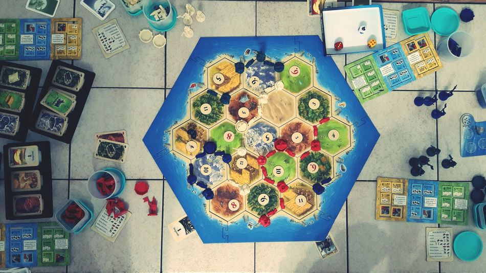Hanging Multi Colored Large Group Of Objects No People Indoors  Day Close-up Catan Playing Playing Games Board Game Table Indoors