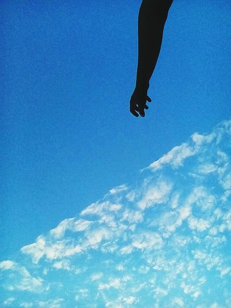 Hello World Hi! Sunset Sky And Clouds Sky небо и облака облака небо закат🌇 рука