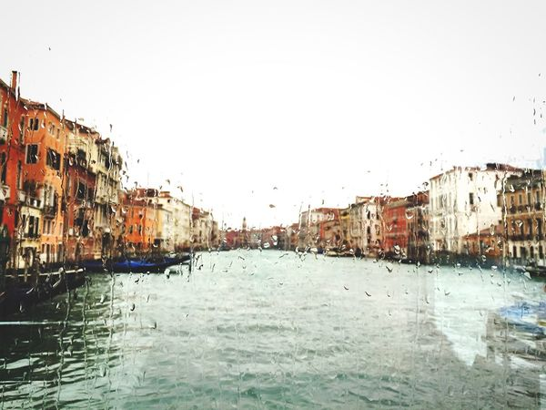 rainy day Venice Venice, Italy Italy Enjoying Life Traveling Travelling Water Reflections Travel Reflections Sea Architectural Detail Architecture Cityscape Old Buildings Urban Landscape Light And Shadow Cityscapes Rain Melancholic Landscapes Water Window Windows Sea And Sky Rainy Day Raindrops