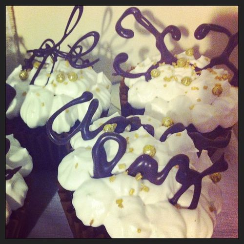 Cupcakes Amorypaz Fé Homemade forsale 2014 newyearseve ❤