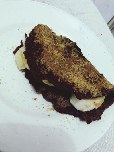 Snack. Crepioca Bananawithpeanutbetter HealtyLifestyle Fitfood