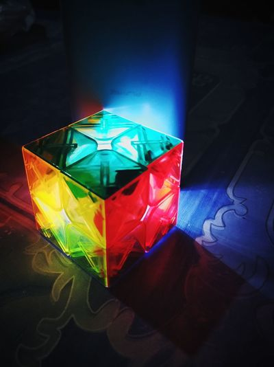 puzzled? Cube