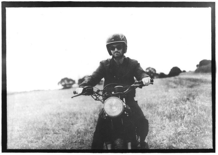 Motorcyclist • Filmphotography Filmisnotdead Taking Photos Mediamformat Motorbike Portrait Blackandwhite