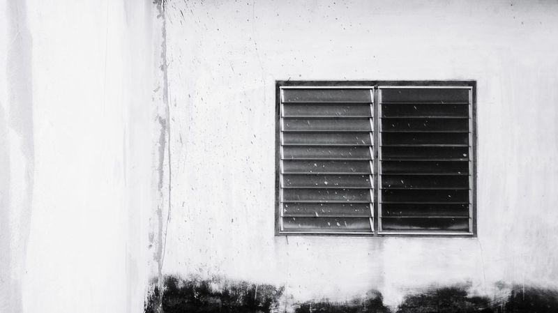 The dilapidation of the old white building Old Buildings White Building Dilapidated Building Dilapidation Background Wall Cement Wall Texture Old Wall White Wall Window Close-up Architecture Building Exterior Built Structure Shutter Rusty Window Box