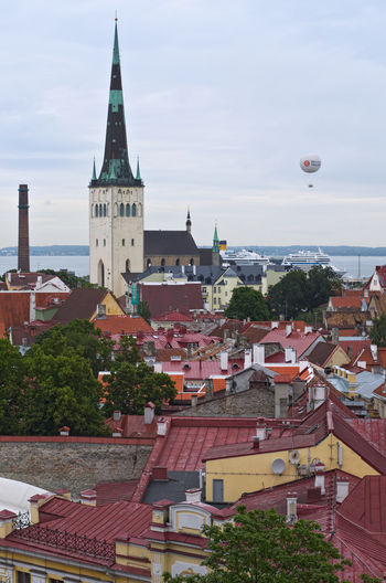 St. Olaf's Church Architecture City Cityscape Estonia No People St. Olaf's Church Tallinn Travel Destinations Urban Skyline