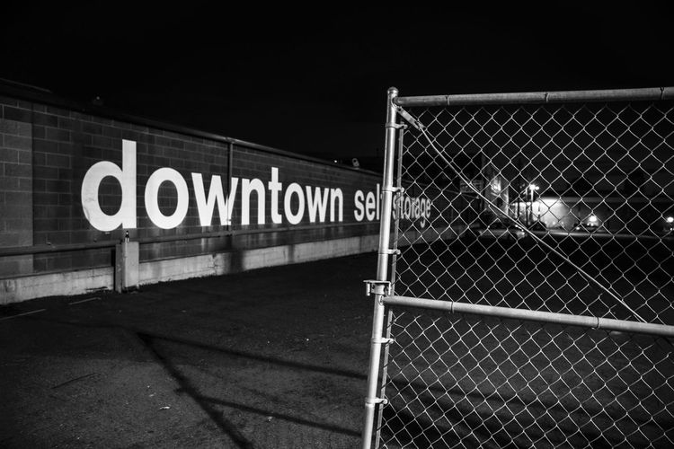 Selfstorage usa trip. Text No People Outdoors Blackandwhite Bw Salt Lake City, Utah Salt Lake City Utahgram Utah UtahisRad Downtown Black And White Parking USA Photos USA USAtrip Goodbye Letters Written Text Fence Gate City