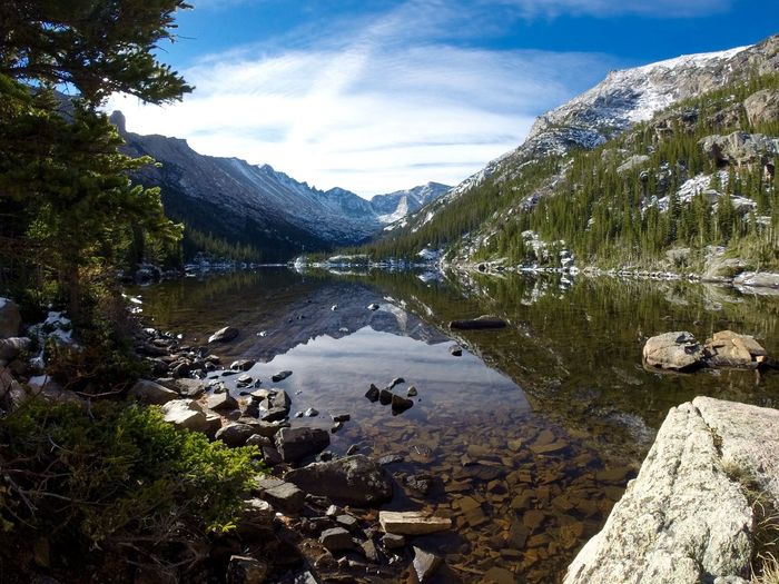 Beauty In Nature Colorado Colorado Photography High Altitude High Altitude Photography High Altitude Terrain Idyllic Lake Landscape Mills Lake Mountain Nature Outdoors Reflection Reflection Lake Rocky Mountain National Park Rocky Mountains Scenics Tranquil Scene Water Wide Angle