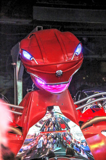 Gaudy Japan Japanese Culture Outrageous Psychedelic Robot Robot Restaurant Robot Show Tokyo