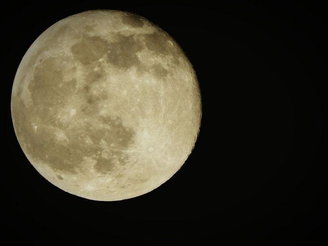 The great moon... Moon Zoom Close Up Digitalcamera Night