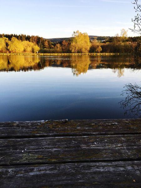 Spring Jogging Lake