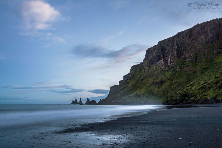 Vik beach in Iceland