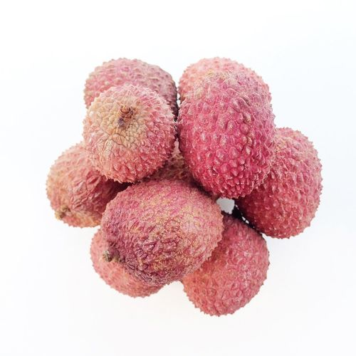 Lychees Lychees Red Pink Fruit Texture Textured Skin Rough Surface Exotic Fruit Fruits Seed