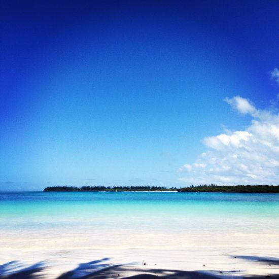 Alone Blue Dream Heaven Ile Des Pins Island Kuto Beach Nature Noumea Nouvelle Calédonie Tropical Paradise
