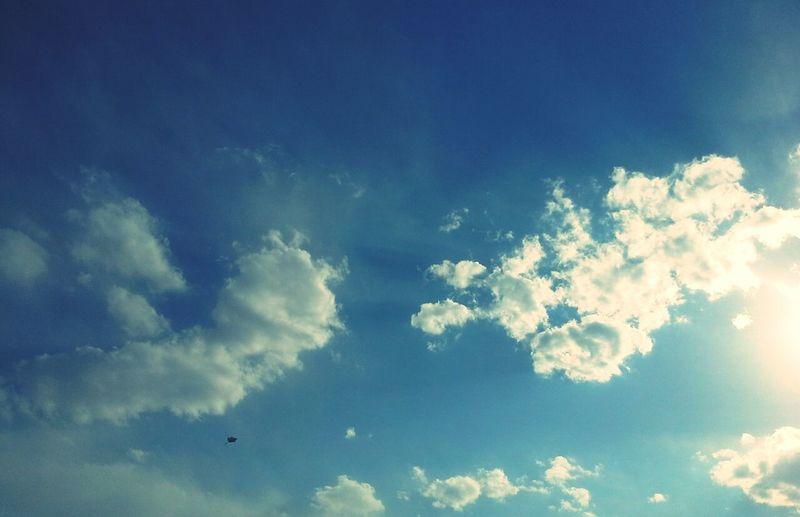 Tehran's blue sky Tehran Tehran Sky Clouds Sky And Clouds