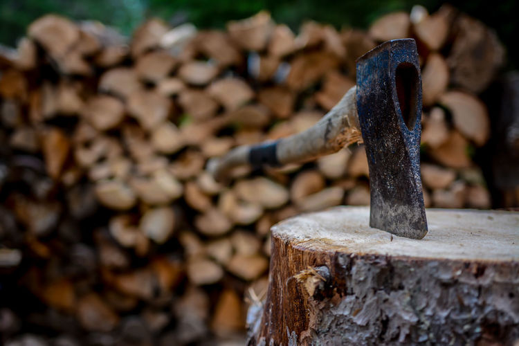 Forestry Wood Woodpile Woody Axe Background Background Texture Canada Chopping Cottage Fire Firewood Outdoors Outdoors Photograpghy  Summer Survival The Week On EyeEm